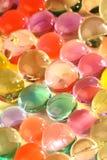 Sfere del gel di colore Fotografia Stock