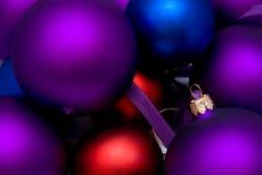 Sfere del nuovo anno Fotografie Stock