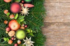 Sfere dell'albero di Natale Fotografia Stock Libera da Diritti