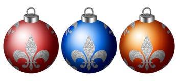 Sfere dell'albero di Natale Immagine Stock Libera da Diritti