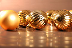 Sfere dell'albero di Natale I immagini stock
