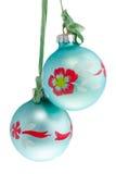 sfere dell'Natale-albero Immagini Stock Libere da Diritti