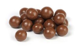 Sfere della caramella di cioccolato fotografia stock