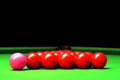 Sfere dello snooker Immagini Stock Libere da Diritti