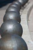 Sfere di acciaio Fotografia Stock Libera da Diritti