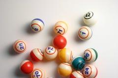 Sfere di Bingo Fotografia Stock Libera da Diritti