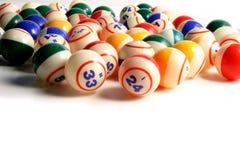 Sfere di Bingo Fotografie Stock