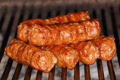 Sfere di carne tradizionali dell'alimento Fotografia Stock