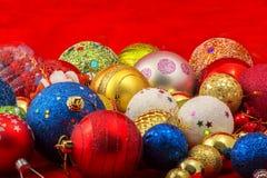 Sfere di Christmass Fotografie Stock Libere da Diritti