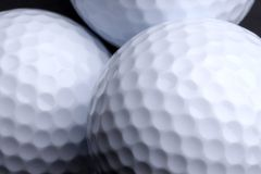 Sfere di golf fotografie stock