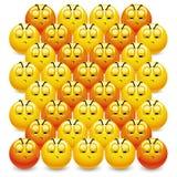 Sfere di smiley Immagini Stock Libere da Diritti