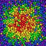 Sfere di spettro Immagine Stock
