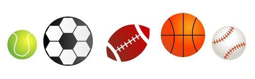 Sfere di sport royalty illustrazione gratis