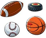 Sfere di sport Immagine Stock