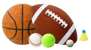 Sfere di sport Fotografie Stock