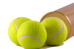 Sfere di tennis fotografia stock