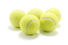 Sfere di tennis Immagine Stock Libera da Diritti