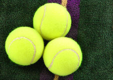 Sfere di tennis immagine stock