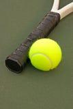Sfere di tennis gialle - 17 Immagine Stock