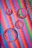 Sfere di vetro astratte Fotografia Stock