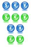 Sfere finanziarie. royalty illustrazione gratis