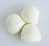 Sfere fresche di bocconcini di formaggio Immagini Stock