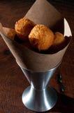 Sfere fritte del formaggio Fotografia Stock Libera da Diritti