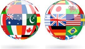 sfery światowe Zdjęcie Royalty Free