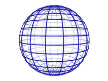 sfery wireframe Obraz Stock