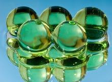 sfery zielona woda Zdjęcie Royalty Free