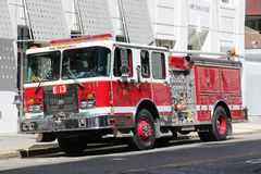 SFFD Fire Engine Stock Image