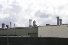 Sfiati industriali dell'estrazione Immagini Stock Libere da Diritti