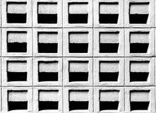 Sfiato del blocchetto del cemento Fotografia Stock