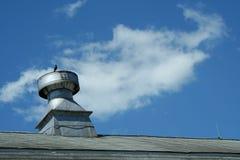Sfiato del tetto del granaio Immagini Stock Libere da Diritti