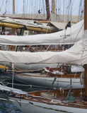 Sfida classica degli yacht di Panerai, Imperia, Italia Fotografie Stock Libere da Diritti