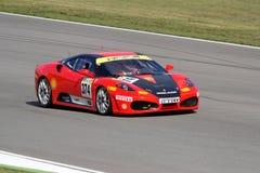 Sfida del Ferrari 430 Immagine Stock Libera da Diritti