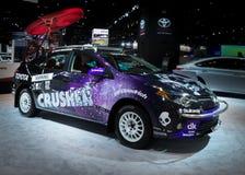 Sfida 2014 di configurazione di sogno di Toyota Corolla fotografie stock