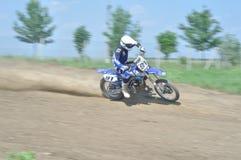 Sfida di motocross Immagine Stock