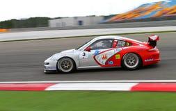 Sfida Europa Orientale della tazza della Porsche GT3 Immagini Stock Libere da Diritti