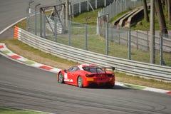 Sfida Evo 2016 di Ferrari 458 del gruppo di Rossocorsa Fotografia Stock