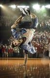 Sfida hip-hop del ballerino Immagine Stock