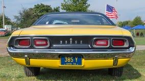 Sfidante di 1972 Dodge Fotografia Stock Libera da Diritti