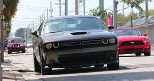 Sfidante RT Miami Florida di Dodge stock footage