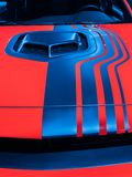 Sfidante Shaker Hood Scoop di Dodge immagine stock