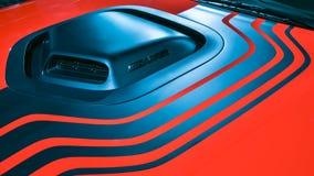 Sfidante Shaker Hood Scoop di 2019 Dodge fotografie stock