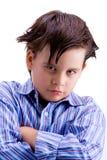 Sfidare del bambino Fotografia Stock Libera da Diritti