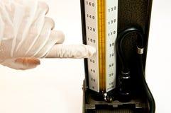 Sfigmomanometro Immagine Stock Libera da Diritti