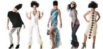Sfilata di moda Fotografie Stock Libere da Diritti