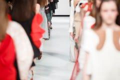 Sfilata di moda Immagini Stock Libere da Diritti