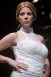 Sfilata di moda dei vestiti da cerimonia nuziale Immagine Stock Libera da Diritti